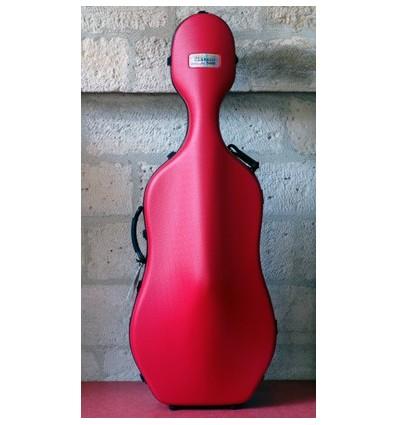 """Étui violoncelle """"Bam - Classic"""" - Rouge - Sans roulette"""