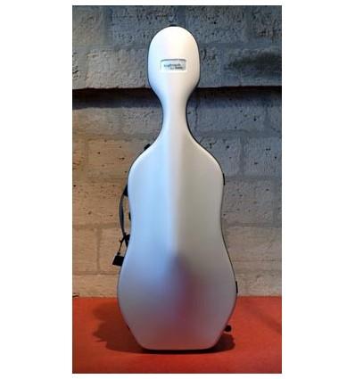 """Étui violoncelle """"Bam - Hightech - Slim"""" - Blanc"""