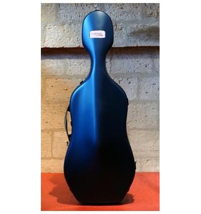 """Étui violoncelle """"Bam - Hightech - Slim"""" - Bleu"""