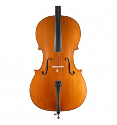 "Violoncelle ""Anonyme Allemand"" - Markneuenkirchen vers 1880 - 1/2"