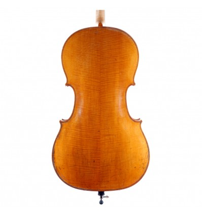 "Violoncelle ""Anonyme Allemand"" - Markneuenkirchen vers 1880 - 1/2"