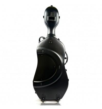 """Étui violoncelle """"Bam - Classic"""" - Noir - Avec roulettes"""