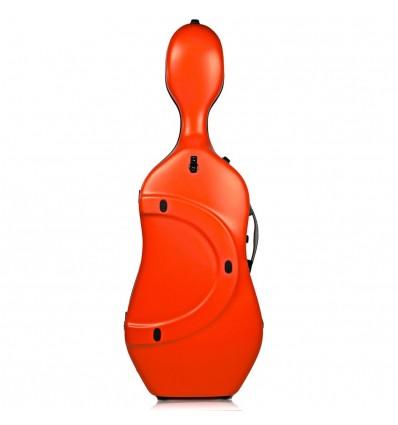 """Étui violoncelle """"Bam - Hightech - Slim"""" - Orangé"""