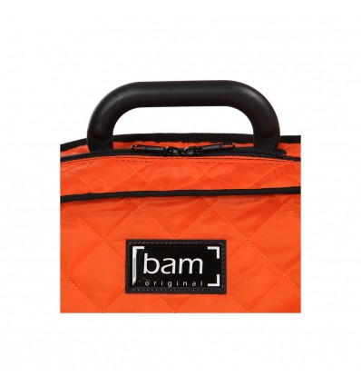 "Sur-housse violon ""Bam - Hoodies"" - Orange"
