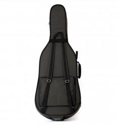 """Housse violoncelle semi-rigide """"Riboni - Luxe"""" - Noir"""